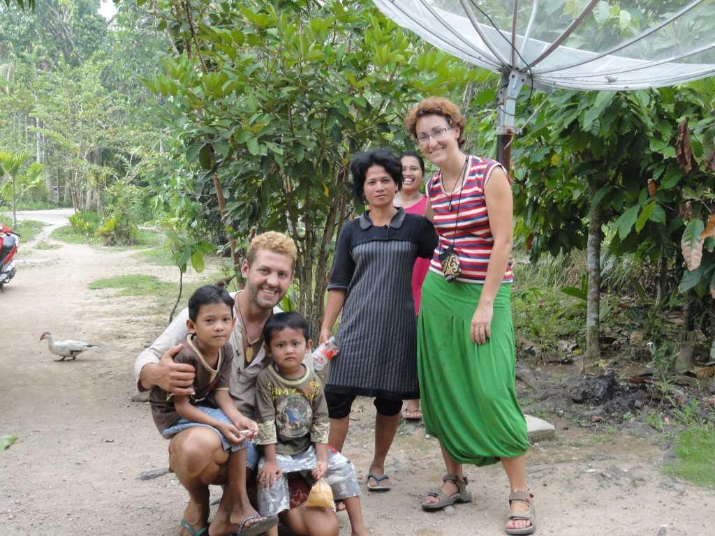Magyar-lengyel pár Indonéziában