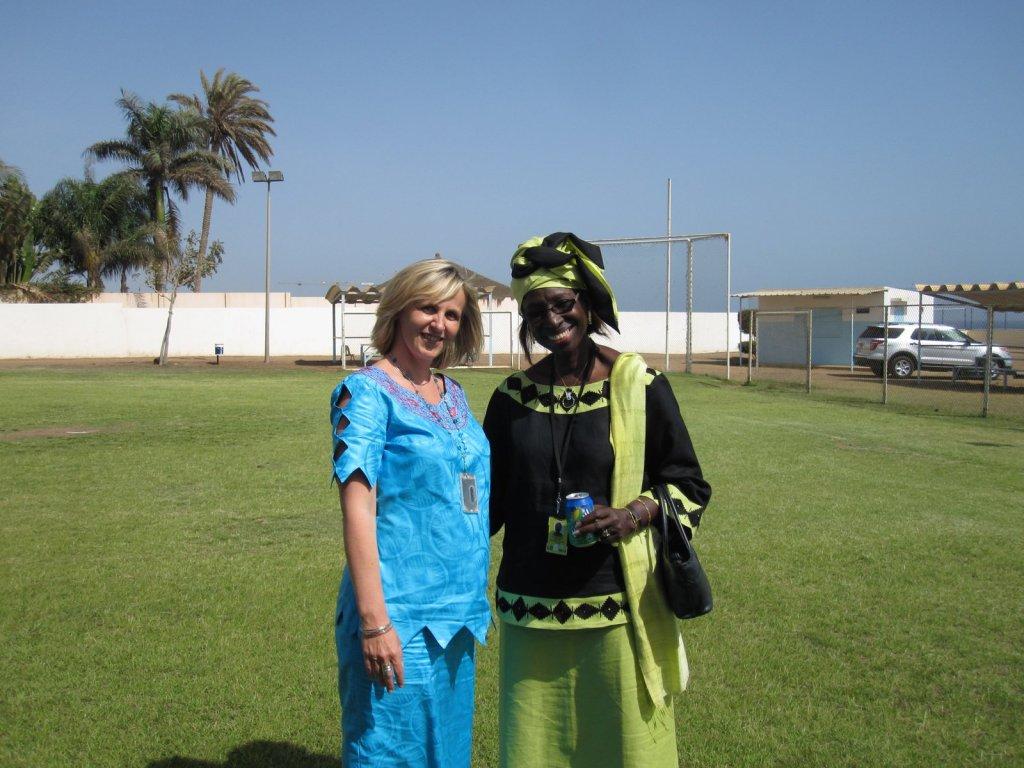 Trembácz Éva Szenegál
