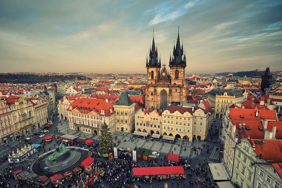külföldiként Prágában