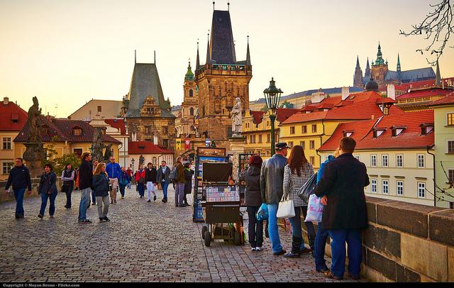 Élet Prágában